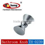 2014 Newest High Quality Stainless Steel Glass Hardware Accessories Bathroom Knob for 8-12 mm Glass Door