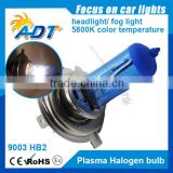 2016 Hot sale H4 5800K Plasma halogen bulb xenon super white crystal white led auto lamp