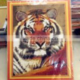 Full Resin Diamond Embroidery Mosaic Pattern Animal Tiger Painting                                                                         Quality Choice