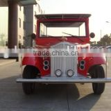 New style cheap electric 6 passenger classic car 48V4.2KW dc motor in amusement park for sale