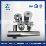 professional desige tungsten carbide rollers used in welding electrode industry for wire feeding purpose made in China