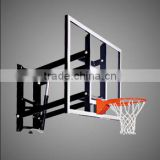 wall mounting glass basketball backboard