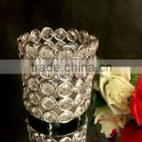 New designed factory crystal candle holder wedding favors wedding table Christmas
