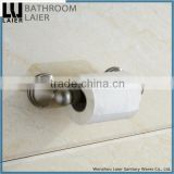 Grooming China Wholesale Zinc Alloy Brush Nicked Bathroom Sanitary Items Wall Mounted Toilet Paper Holder