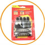 10pcs Plastic Cable Fixer Fastener Wire Cord Cable Clip Organizer Holder from dailyetech