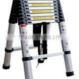 7+7 DETACHABLE COMBI TELESCOPIC LADDER(A type) (aluminium+plastic)/DOUBLE LADDER