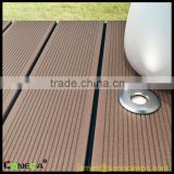 High Quality Engineered WPC Composite Decking,Solid crack-resistant WPC Decking,Wooden Laminated Flooring