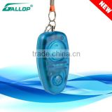 2016 Gallop 120DB alarm Blue Mini personal attack alarm /Self Defense personal alarm Supplies JX-680BR