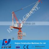 Shandong Province Slewing D260(6029) Luffing jib tower crane self raised erecting hoisting lift for sale in Dubai and Middle Eas
