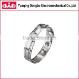factory wholesale high quality automobile car accessory parts stainless steel hose clamps