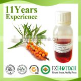 Private Label Pure Sea Buckthorn Fruit Berry Oil Price, Bulk Seed Seabuckthorn Cold Press Oil