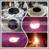 High performance Spinel magnesia ramming mass For 1~25ton induction furnace to melt High alloy steel carbon steel