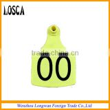 plastic ear tag for cow/cattle