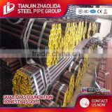 cold rolled think wall welded pre galvanized square structure steel pipe / tube of weight per ton