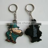3D hunter pvc keychain