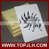 Hot wholesale temporary water transfer inkjet tattoo stickers