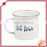 2014 china promotion metal enamel cups & sublimation mug