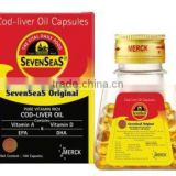 Seven Seas Pure Cod Liver Oil Capsules Supports a Healthy Heart,supports a Healthy Immune System-100ct (Pack of 3)