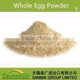 China manufacturer high quality whole egg powder used in ice cream,pastry,salad dressing