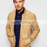 Suede Leather Jacket for Men's