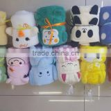 Cute Animal Shape Designed Baby Soft Throws Blanket