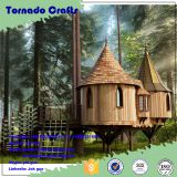 High-level design outdoor artificial tree house artistic simulation artificial tree house