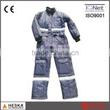 Winter warm cold frozen coverall garment mens safety freezer suit