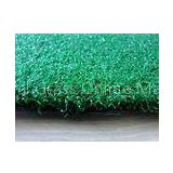 12mm PE Fibrillated Yarn Fake Artificial Field Golf Grass Recycled With PP + Cloth Backing