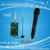 JK006   wireless microphone module with handheld microphone