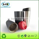 Promotional best selling products double wall Stainless Steel Vacuum Car Mug Vacuum Auto Mug