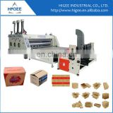 Corrugated carton box slitting machine semi-auto flexo printing slotting machine manufacuturer