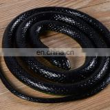 Realistic Rubber Black Mamba Snake Toy 133CM long Halloween party decoration