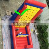 Popular inflatable climbing wall sports
