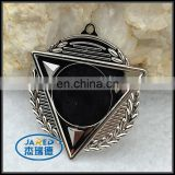 Cheap Silver Metal Crafts Zinc Alloy Medal for Gift Items
