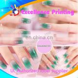 hot sale self adhesive populer water transfer nail sticker
