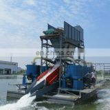 High efficiency gold mining/gold panning machine