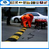 Top Sale 1830mm rubber road speed bump recycled rubber road safety products 500*600*50mm rubber speed hump