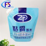 Customized production of 1-5l building material glue composite packaging bags,Free-standing suction nozzle BAG IN BOX
