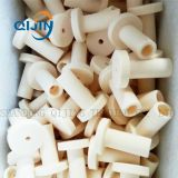 Can be customized 92%95%97%99% alumina ceramic shaped pipe fittings