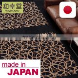 Anti-Static and Heavy Traffic Carpet Tile for retail store decorations with multiple functions made in Japan