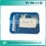 Disposable sterile clean surgical delivery kit/pack for Africa Market