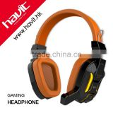 3.5mm USB professional stereo cool cold LED light earmuff gaming headphone