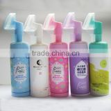High Quality 150ml Etude House Bubble Mousse Bottle with Brush Foaming Pump