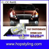 Cheap price for 3157 Switchback Double Color LED Turn Signal Light Bulbs,car accessories
