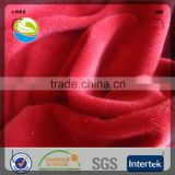 China manufacturer polyester super soft plain kids blanket fleece fabric