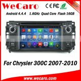 Wecaro WC-JC6235 Android 4.4.4 stereo indash car radio gps for chrysler 300c 2007 - 2010 BT gps 3g TV