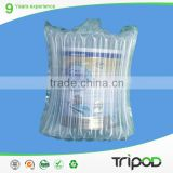 Protective Column Air Bag Packaging Air Inflatable Bag For Milk Powder Cans
