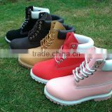 supply steel toe safety shoes wear-resisting protective shoe non slip leather safety boots wholesale work shoes
