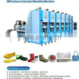 EVA slipper sole injection moulding machine \garden& crocs brand shoes \light foaming shoes machine
