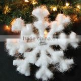 2016 new product Christmas snowflake hanging festival snowflake wedding outdoor decoration